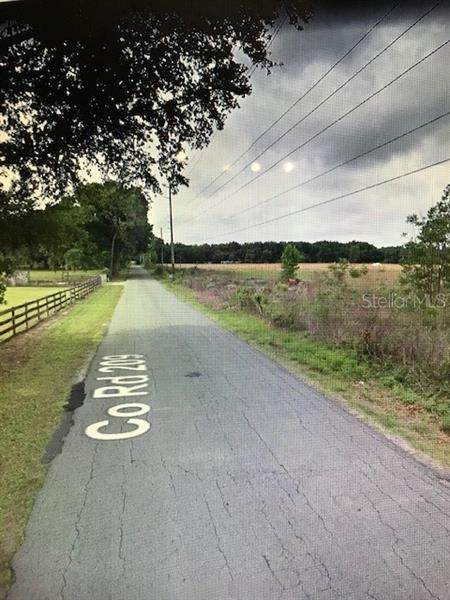 Land for Sale at 13994 COUNTY ROAD 209 Oxford, Florida 34484 United States