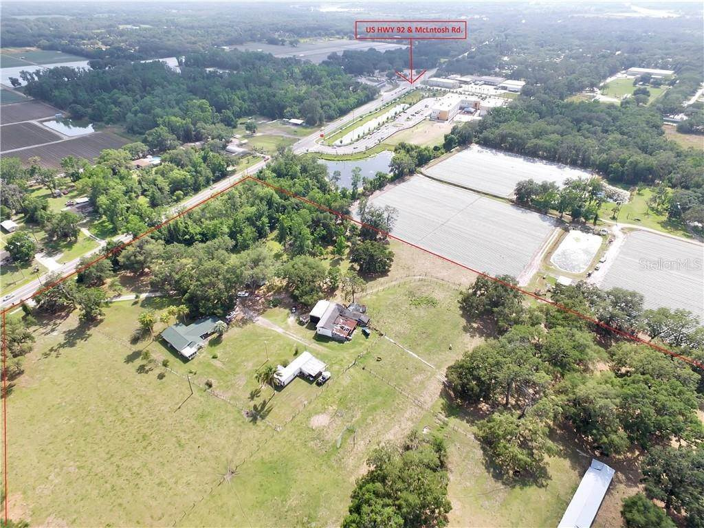 Land for Sale at 13030 E US HIGHWAY 92 Dover, Florida 33527 United States