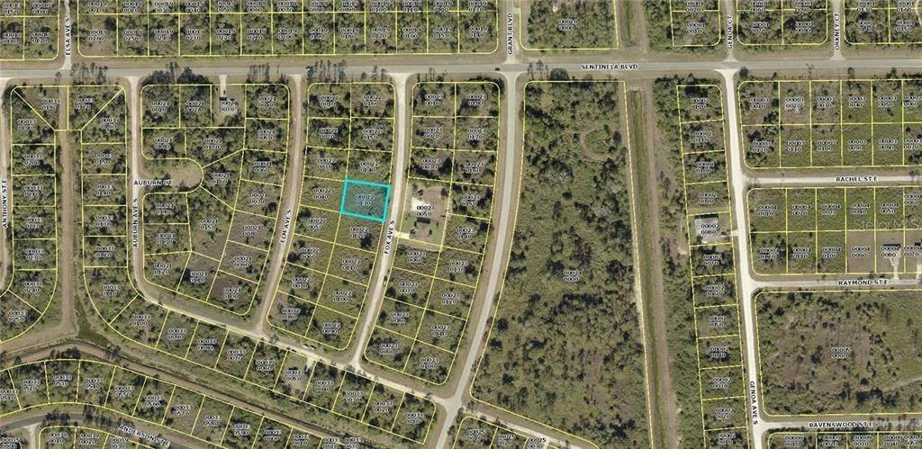 Land for Sale at 126 FOX AVENUE S Lehigh Acres, Florida 33974 United States