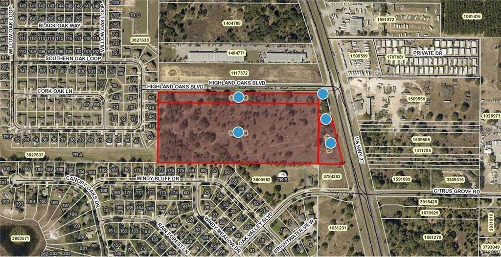 Land for Sale at 17545 US HWY 27 Minneola, Florida 34715 United States