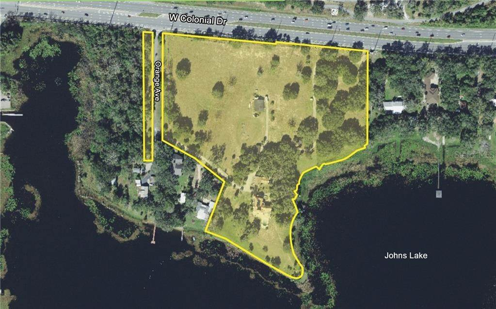 Land for Sale at 17812 W COLONIAL Winter Garden, Florida 34787 United States