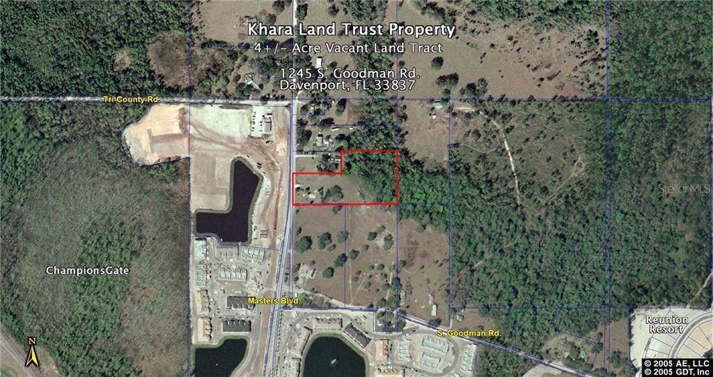 Land for Sale at 1245 S GOODMAN ROAD Champions Gate, Florida 33896 United States
