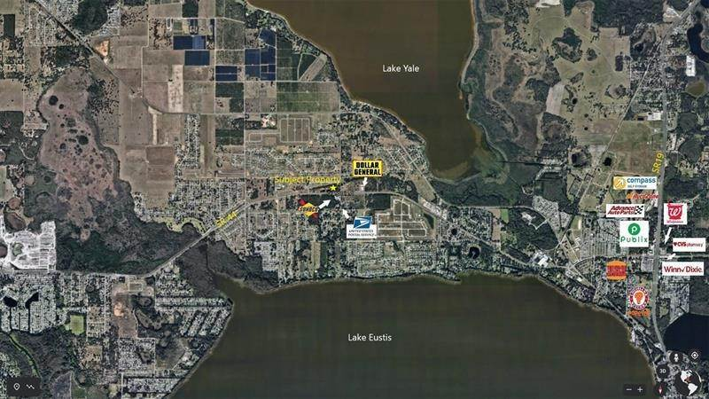 Land for Sale at 36635 S FISH CAMP ROAD Grand Island, Florida 32735 United States