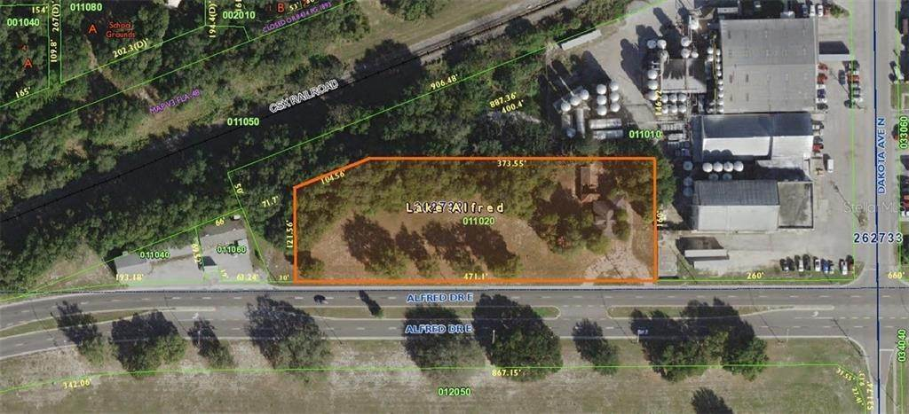 Land for Sale at 350 E ALFRED DRIVE Lake Alfred, Florida 33850 United States