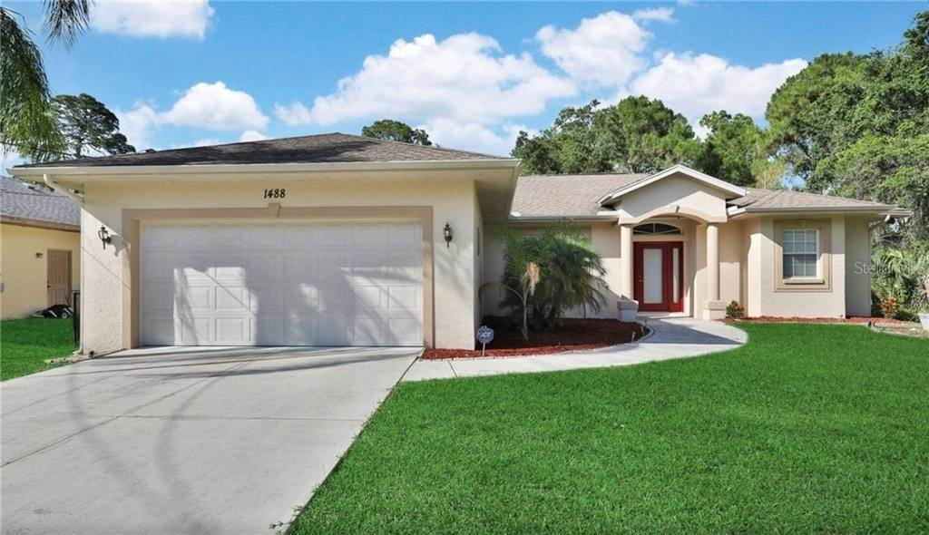 Single Family Homes at 1488 SQUAW LANE North Port, Florida 34286 United States