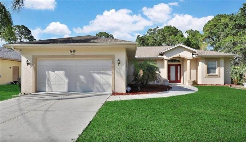 Single Family Homes en 1488 SQUAW LANE North Port, Florida 34286 Estados Unidos