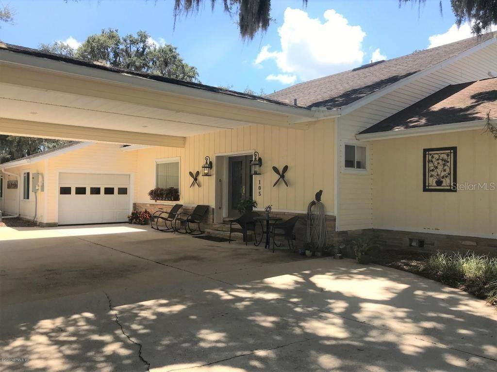 Single Family Homes for Sale at 105 EAGLES NEST DRIVE Crescent City, Florida 32112 United States