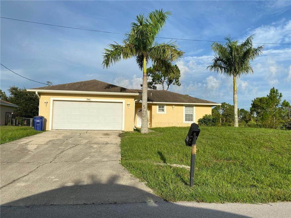 Single Family Homes for Sale at 766 APRILE AVENUE S Lehigh Acres, Florida 33974 United States