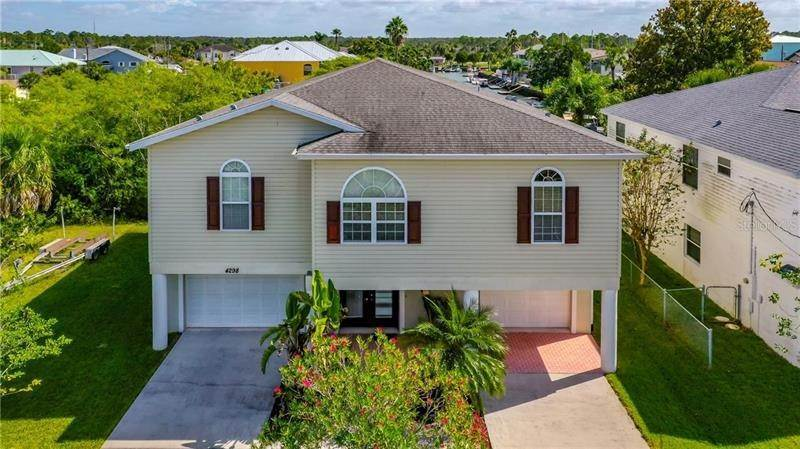 Single Family Homes for Sale at 4298 TAHITI DRIVE Hernando Beach, Florida 34607 United States