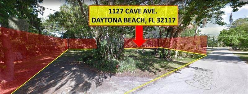 Land for Sale at 1127 CAVE AVENUE Holly Hill, Florida 32117 United States