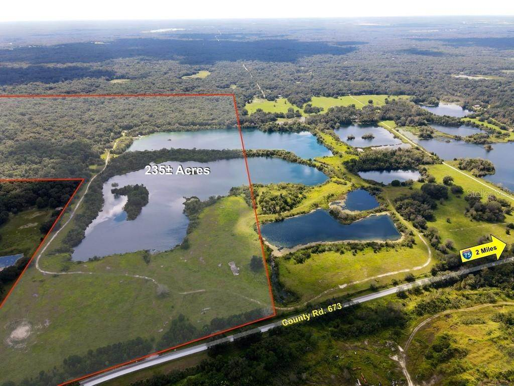 Land for Sale at 3949 COUNTY ROAD 673 Webster, Florida 33597 United States