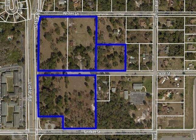 Land for Sale at LITTLE RD AND SCOT Street Hudson, Florida 34667 United States