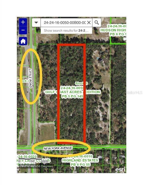 Land for Sale at NEW YORK AVENUE W Hudson, Florida 34667 United States