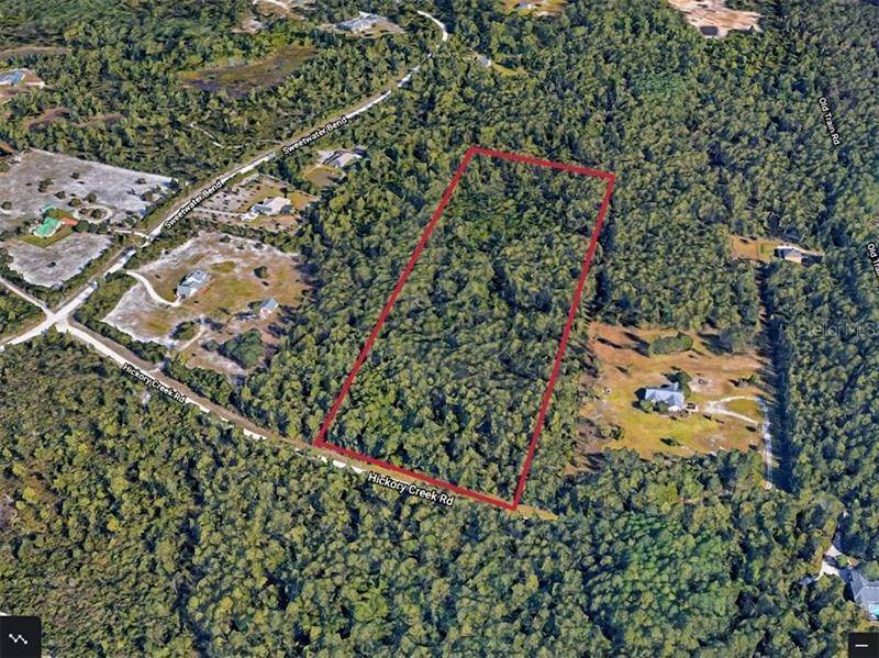 4. Land for Sale at 3420 HICKORY CREEK Road Deltona, Florida 32738 United States