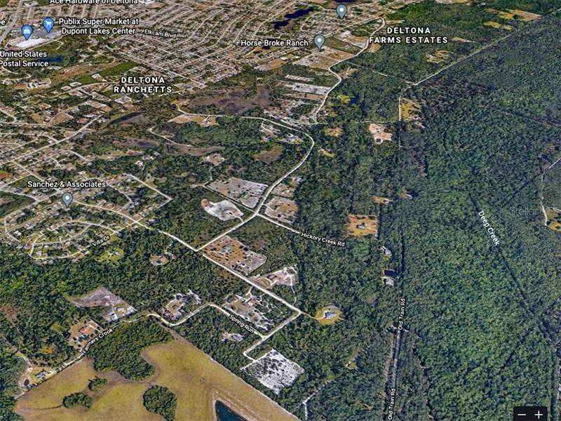 5. Land for Sale at 3420 HICKORY CREEK Road Deltona, Florida 32738 United States