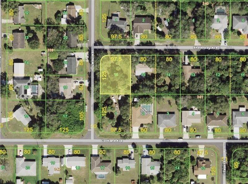 7. Land for Sale at 18325 SHADOWAY AVENUE Port Charlotte, Florida 33948 United States