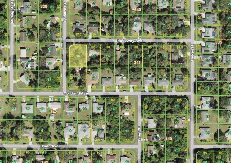 8. Land for Sale at 18325 SHADOWAY AVENUE Port Charlotte, Florida 33948 United States