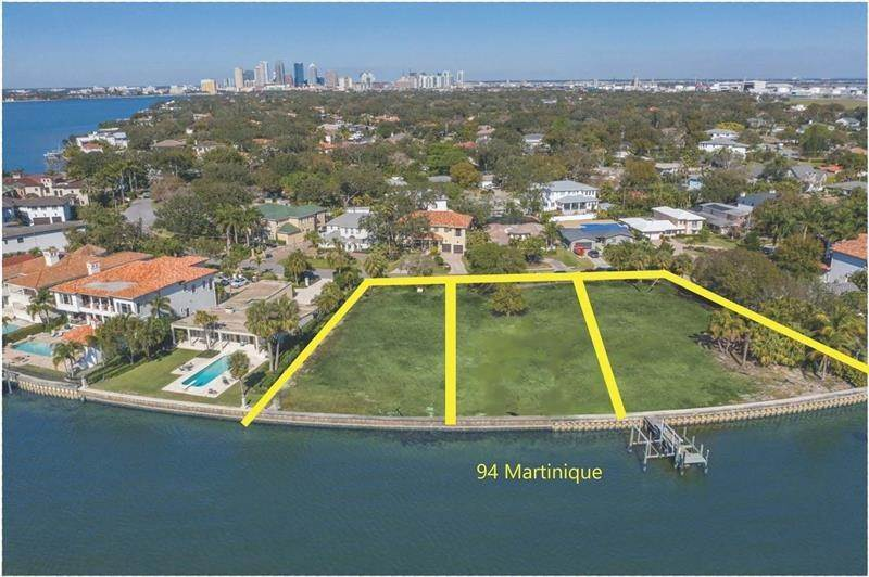 Terreno por un Venta en 94 MARTINIQUE AVENUE Tampa, Florida 33606 Estados Unidos