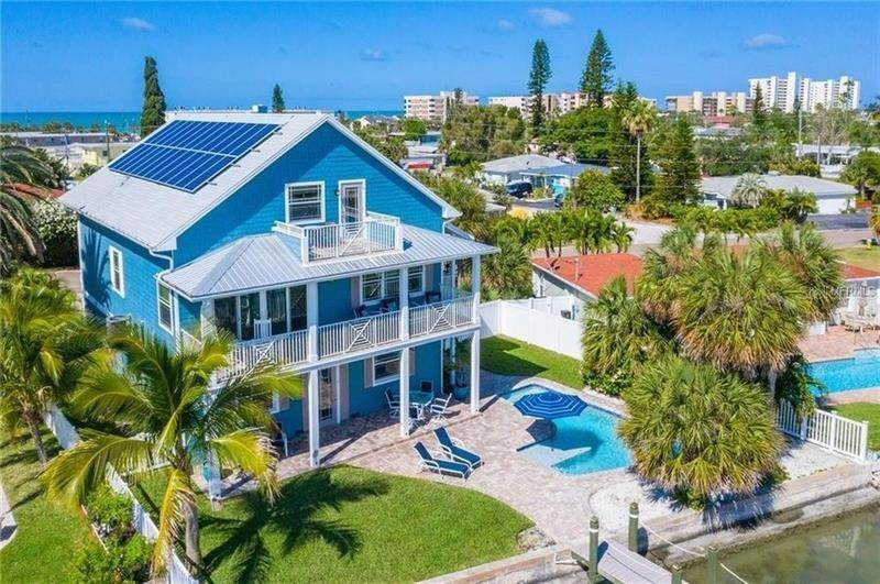 Single Family Homes for Sale at 14305 N BAYSHORE DRIVE Madeira Beach, Florida 33708 United States