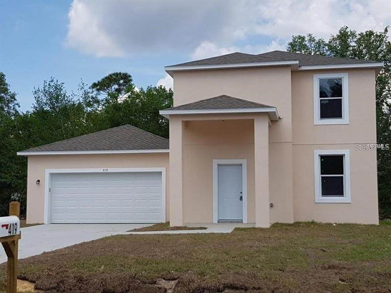 Single Family Homes en 419 EAGLE DRIVE Poinciana, Florida 34759 Estados Unidos