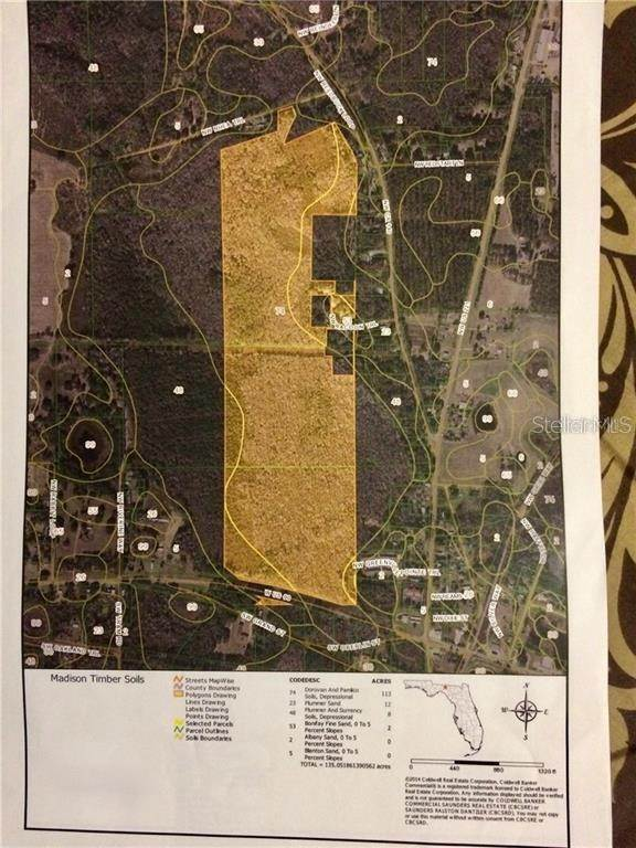 Land for Sale at W US 90 Greenville, Florida 32331 United States