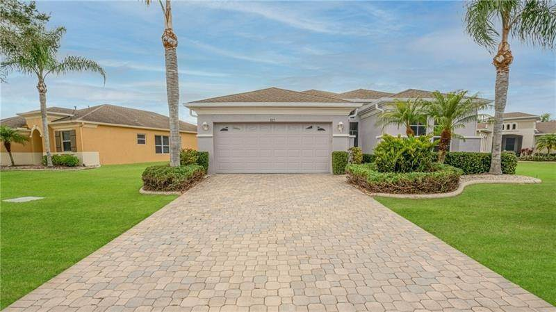 Single Family Homes for Sale at 825 KING LEON WAY Sun City Center, Florida 33573 United States