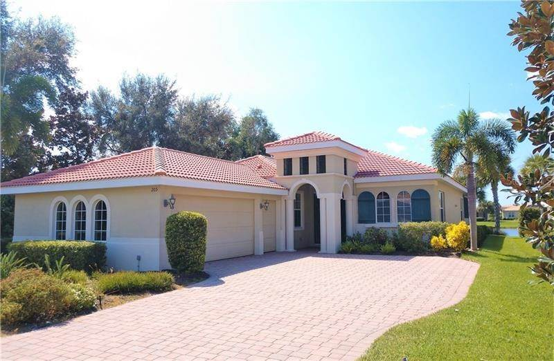Single Family Homes en 205 CIPRIANI WAY North Venice, Florida 34275 Estados Unidos