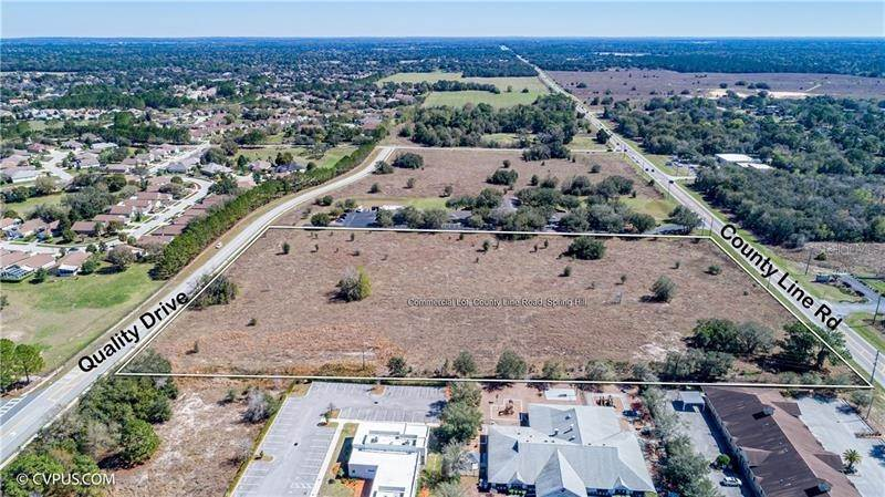 Land for Sale at 28 COUNTY LINE ROAD Spring Hill, Florida 34609 United States