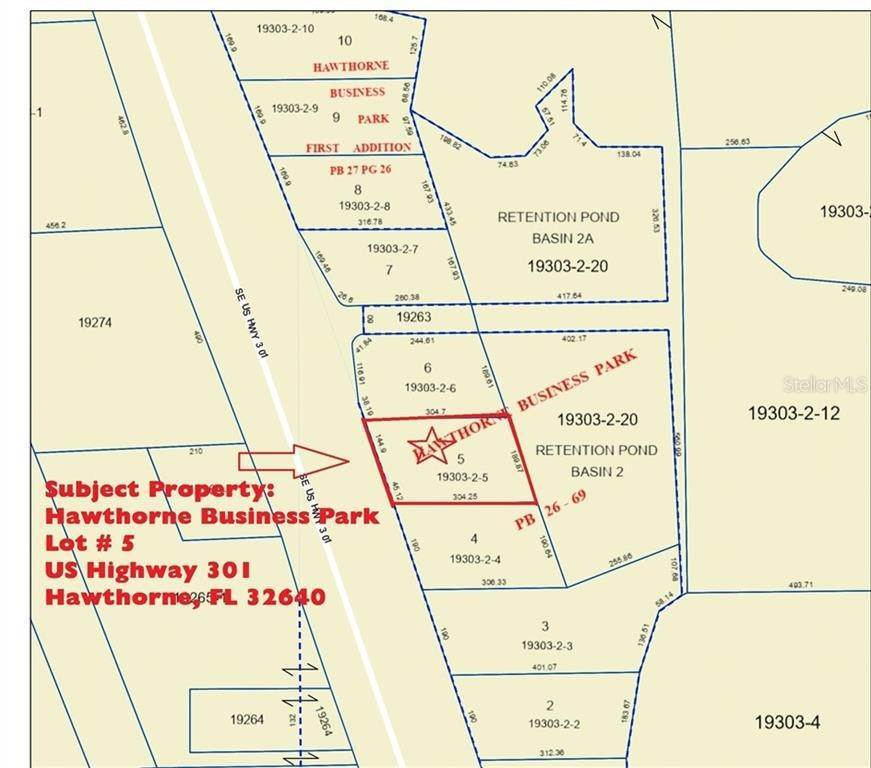 Commercial for Sale at SE US HIGHWAY 301 Hawthorne, Florida 32640 United States