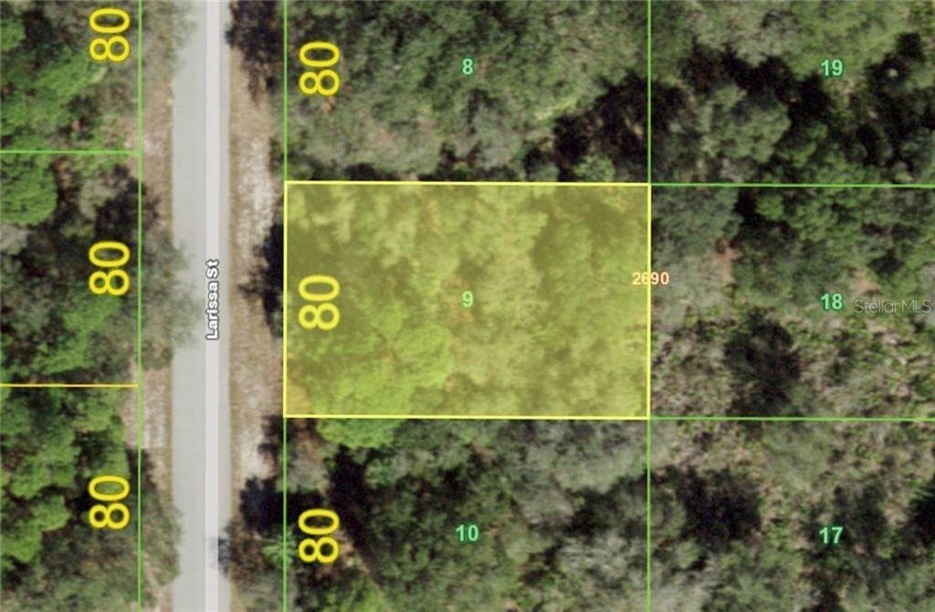 Land for Sale at 3136 LARISSA STREET Port Charlotte, Florida 33948 United States