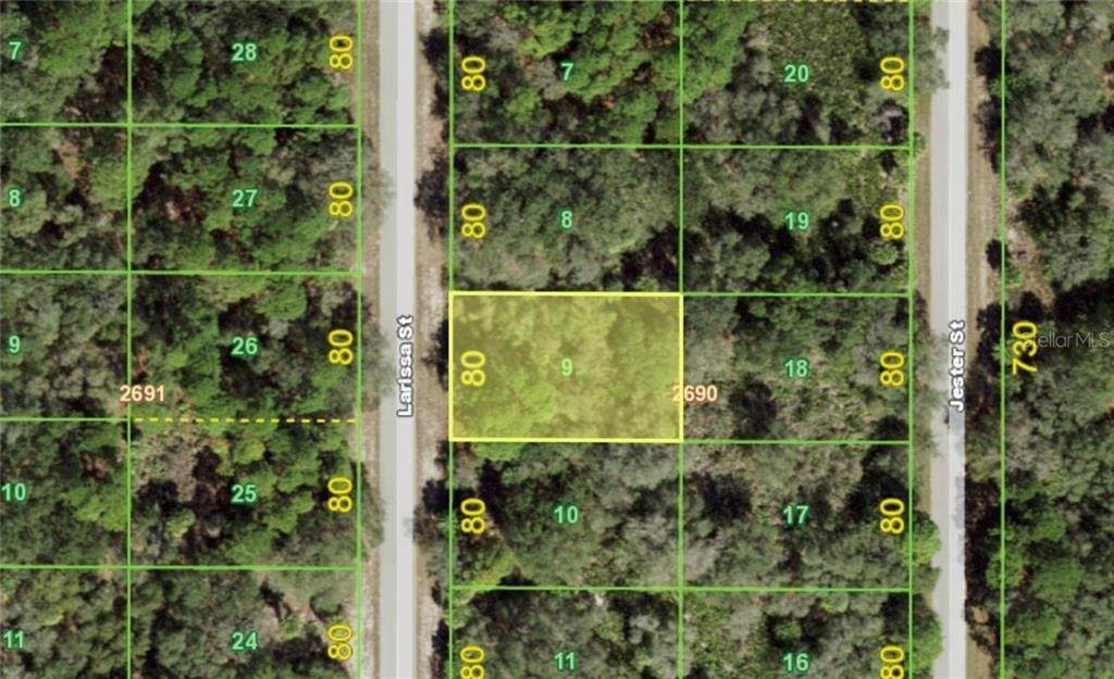 2. Land for Sale at 3136 LARISSA STREET Port Charlotte, Florida 33948 United States