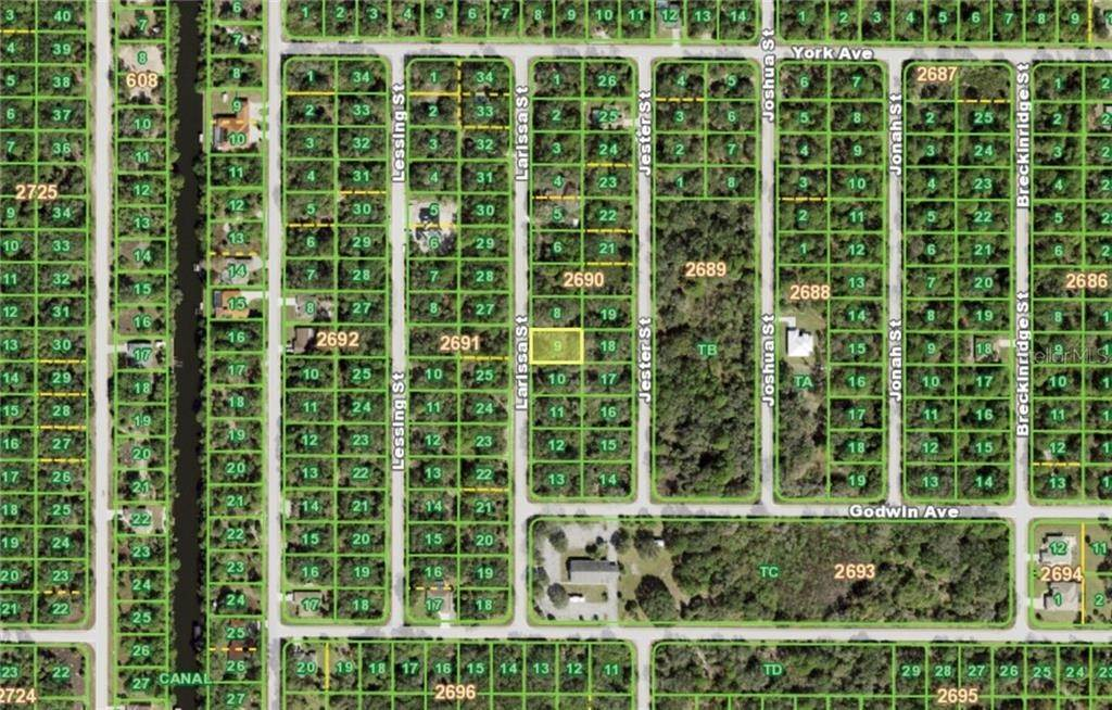 3. Land for Sale at 3136 LARISSA STREET Port Charlotte, Florida 33948 United States