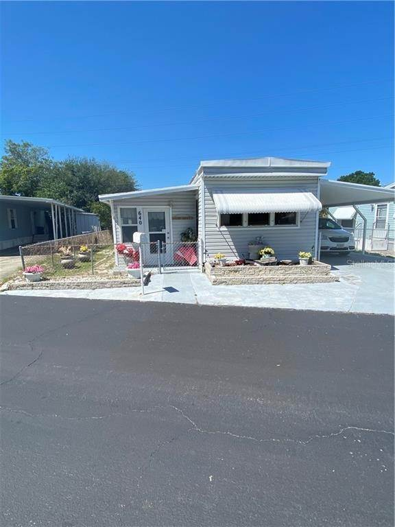 Mobile Homes for Sale at 6580 SEMINOLE BOULEVARD 640 Seminole, Florida 33772 United States