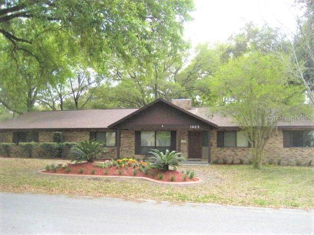 15. Single Family Homes for Sale at 1003 HILLTOP STREET Fruitland Park, Florida 34731 United States
