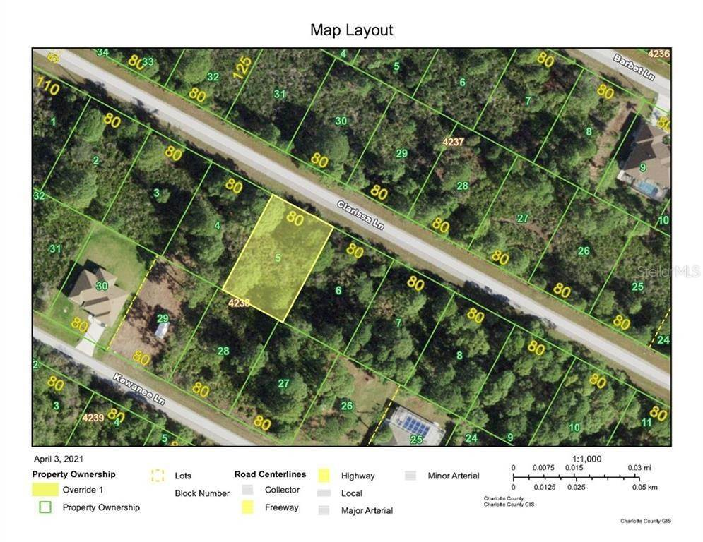 Land for Sale at 14113 CLARISSA LANE Port Charlotte, Florida 33981 United States
