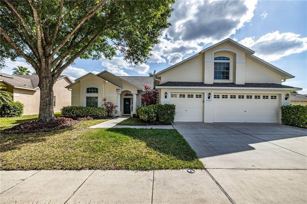 Single Family Homes for Sale at 8605 HERONS COVE PLACE Tampa, Florida 33647 United States