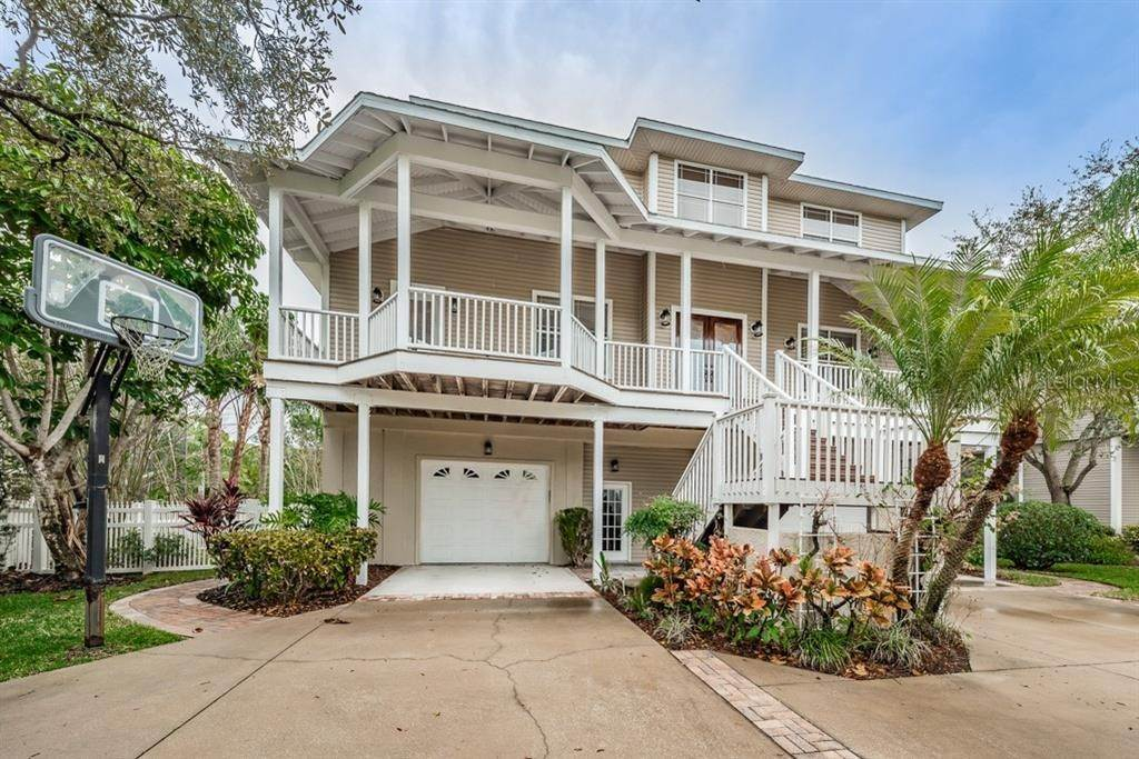Single Family Homes for Sale at 897 POINT SEASIDE DRIVE Crystal Beach, Florida 34681 United States