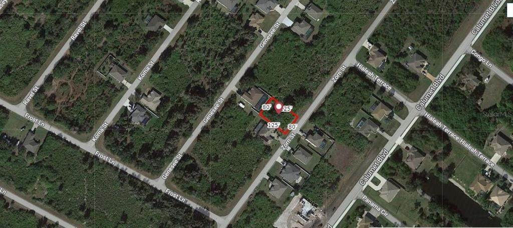 Land for Sale at 9269 ZORN STREET Port Charlotte, Florida 33981 United States
