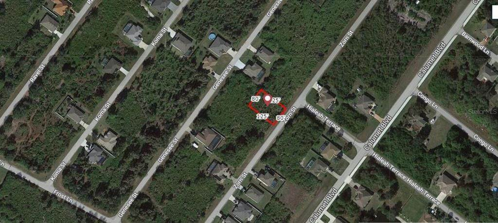 Land for Sale at 9245 ZORN STREET Port Charlotte, Florida 33981 United States
