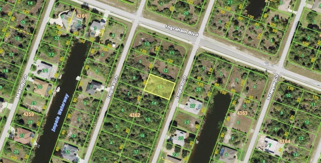 Land for Sale at 9351 IMPALA CIRCLE Port Charlotte, Florida 33981 United States