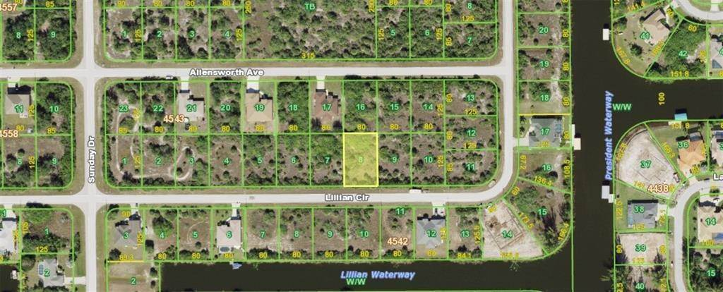 Land for Sale at 14655 LILLIAN CIRCLE Port Charlotte, Florida 33981 United States