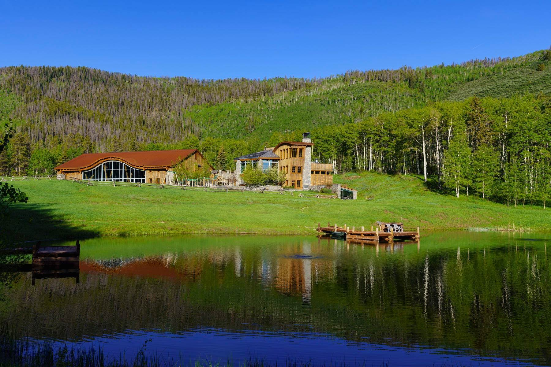 30. Single Family Homes for Sale at Casteel Creek Retreat 25 Casteel Creek Road Edwards, Colorado 81632 United States