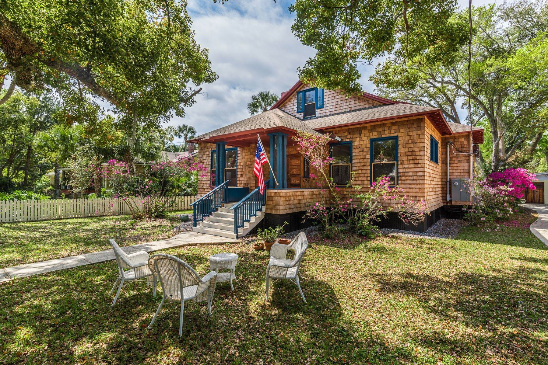 Single Family Homes for Sale at St. George Street Historical Home 290 St George Street St. Augustine, Florida 32084 United States