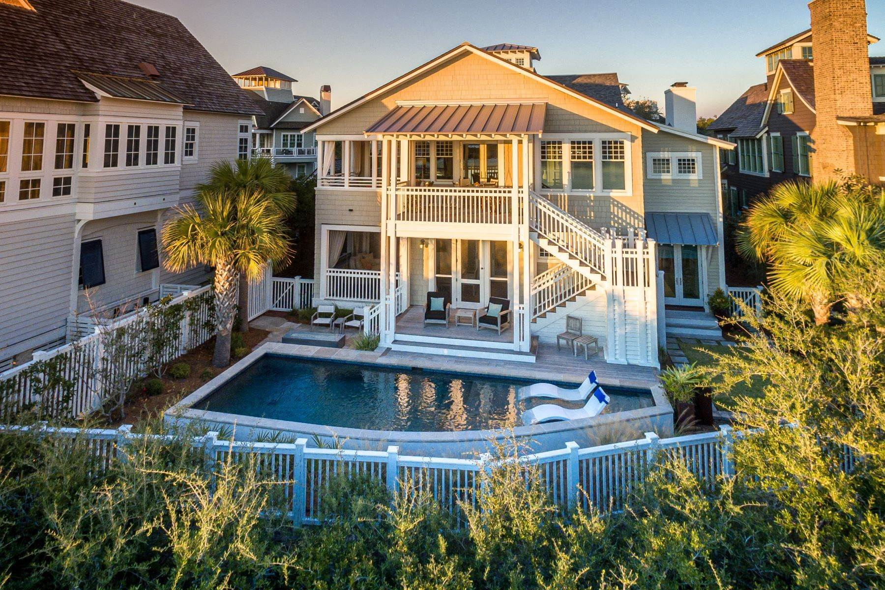 Single Family Homes for Sale at Coastal Retreat and Lakefront Living with Pristine Gulf Views 121 Gulf Bridge Lane Inlet Beach, Florida 32461 United States