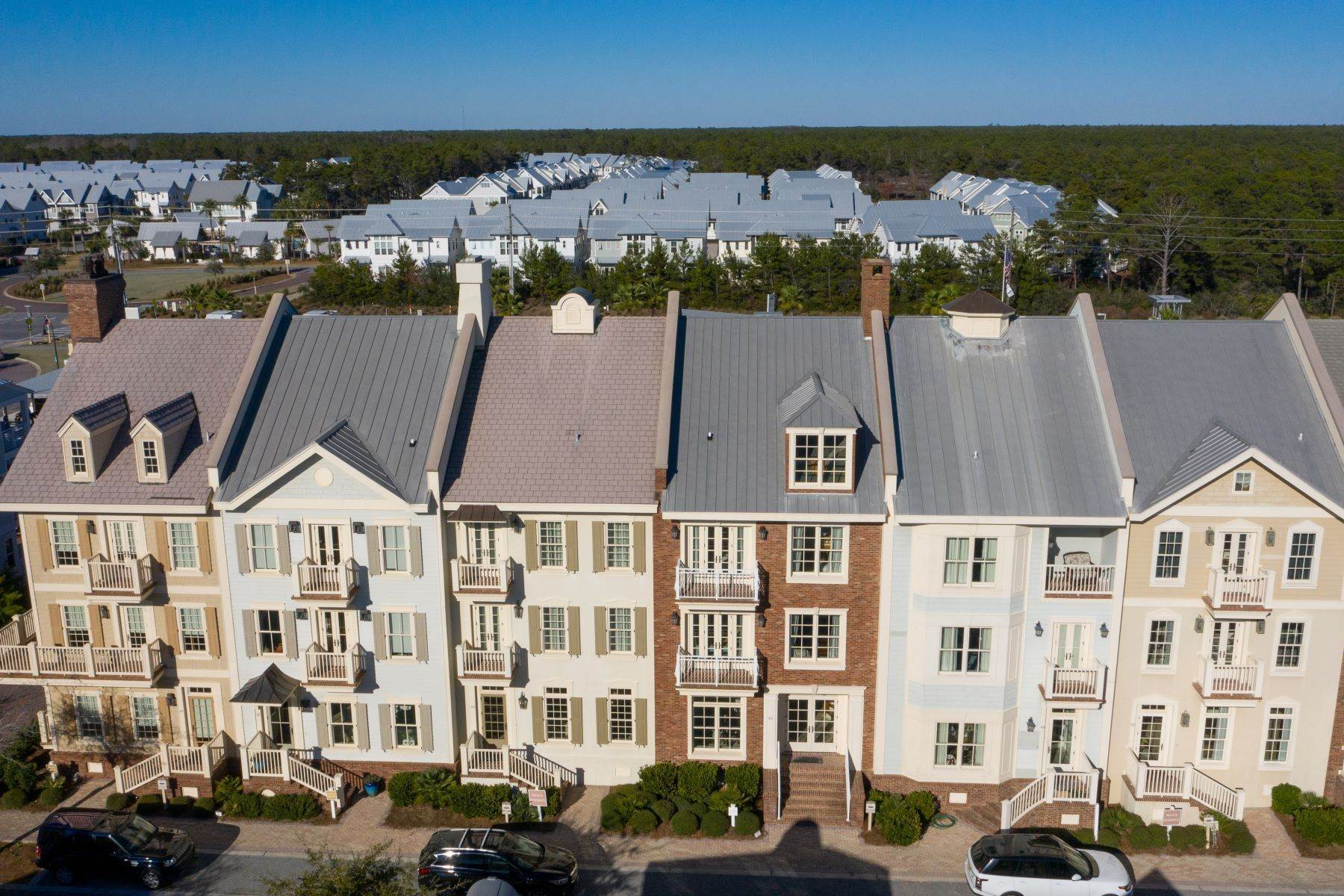townhouses for Sale at Luxury Townhome in Coastal Village of Prominence 39 Pleasant Street Inlet Beach, Florida 32461 United States