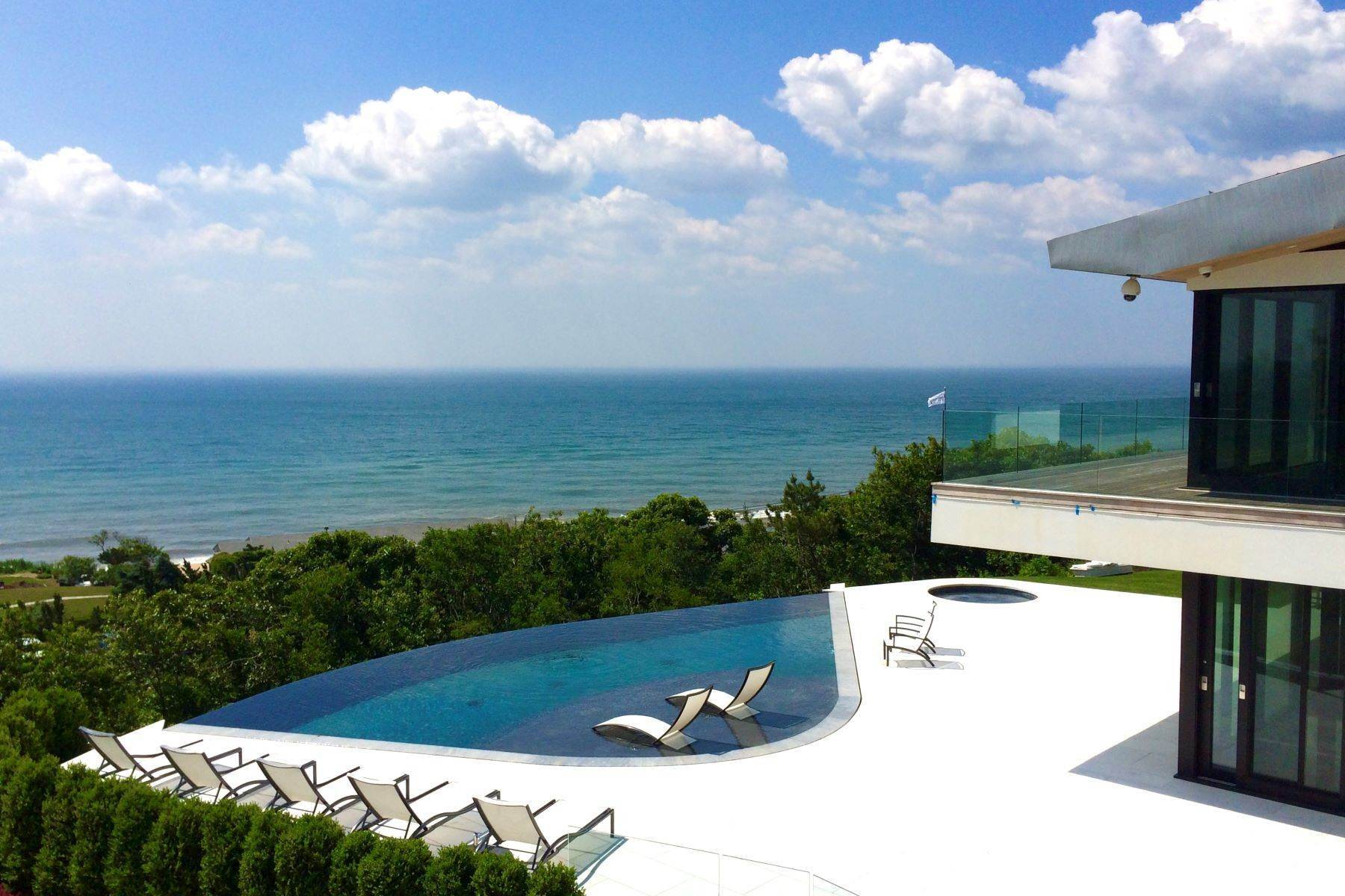 Single Family Homes at Alluring Modern Overlooking Ocean 14 Maple Street East Hampton, New York 11937 United States