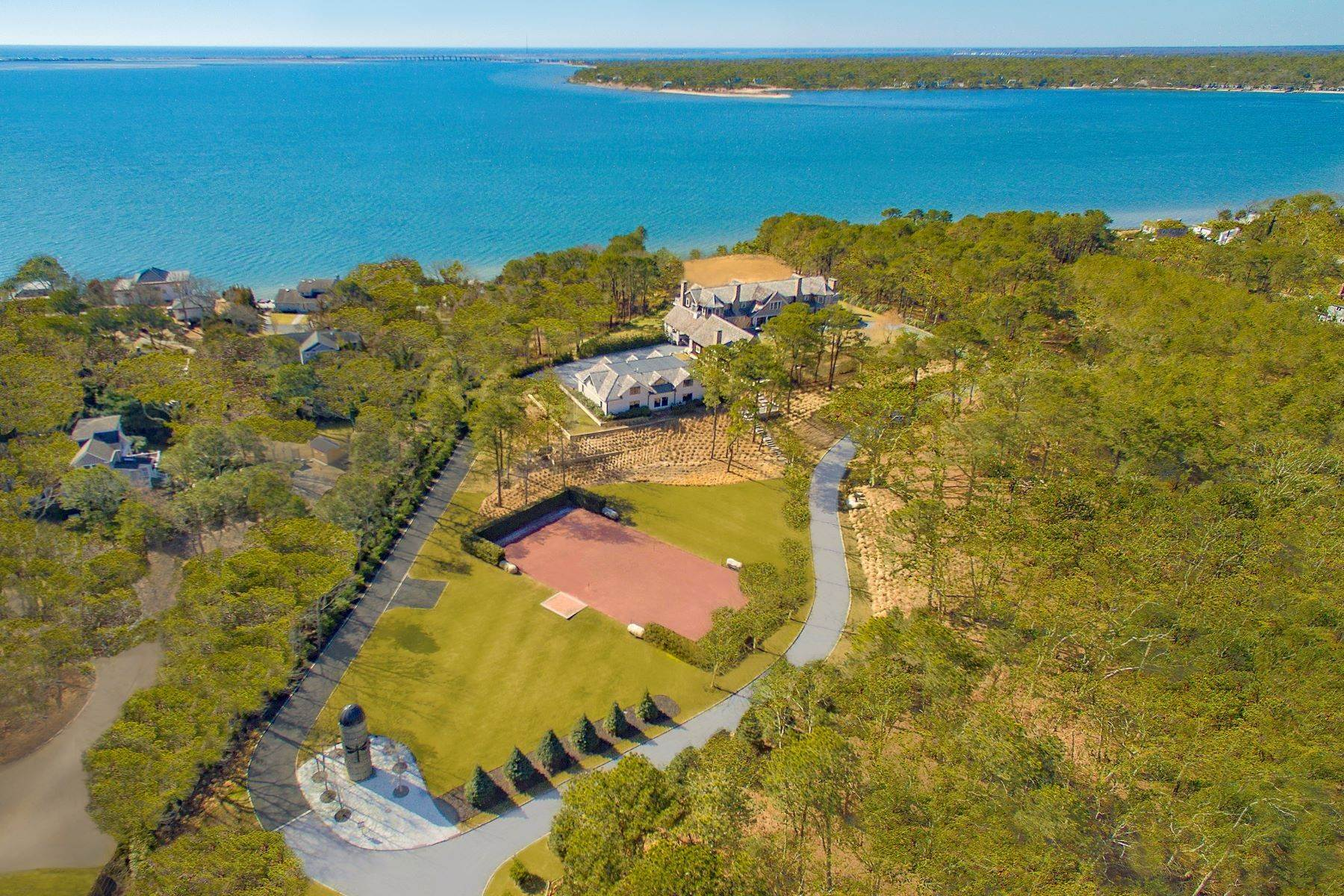 Single Family Homes en Fantastic Southampton Bay View Estate 660 Montauk Highway Southampton, Nueva York 11968 Estados Unidos