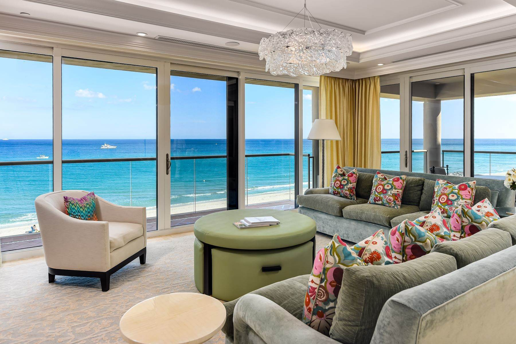 Condominiums for Sale at Breakers Row Direct Ocean 2 N Breakers Row N42 Palm Beach, Florida 33480 United States
